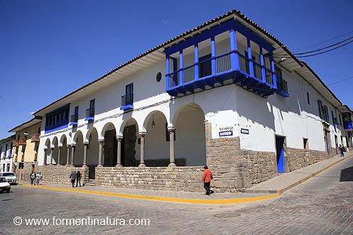 Casa del Inca Garcilaso, hoy Museo Regional del Cusco.